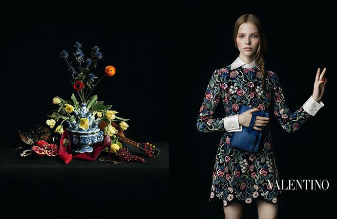 Аксессуары от Valentino: кампания сезона осень-зима 2013/14