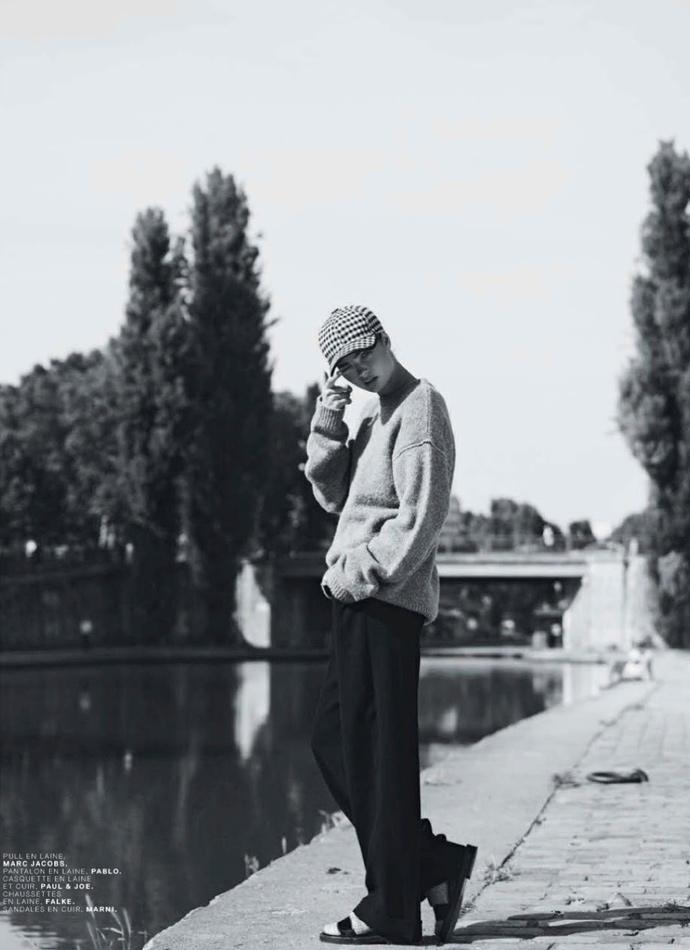 Моа Аберг для Jalouse 2013