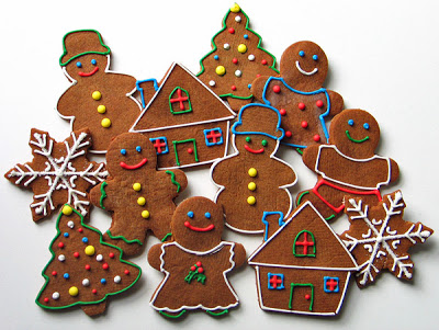 Сервировка рождественского и новогоднего стола 2014
