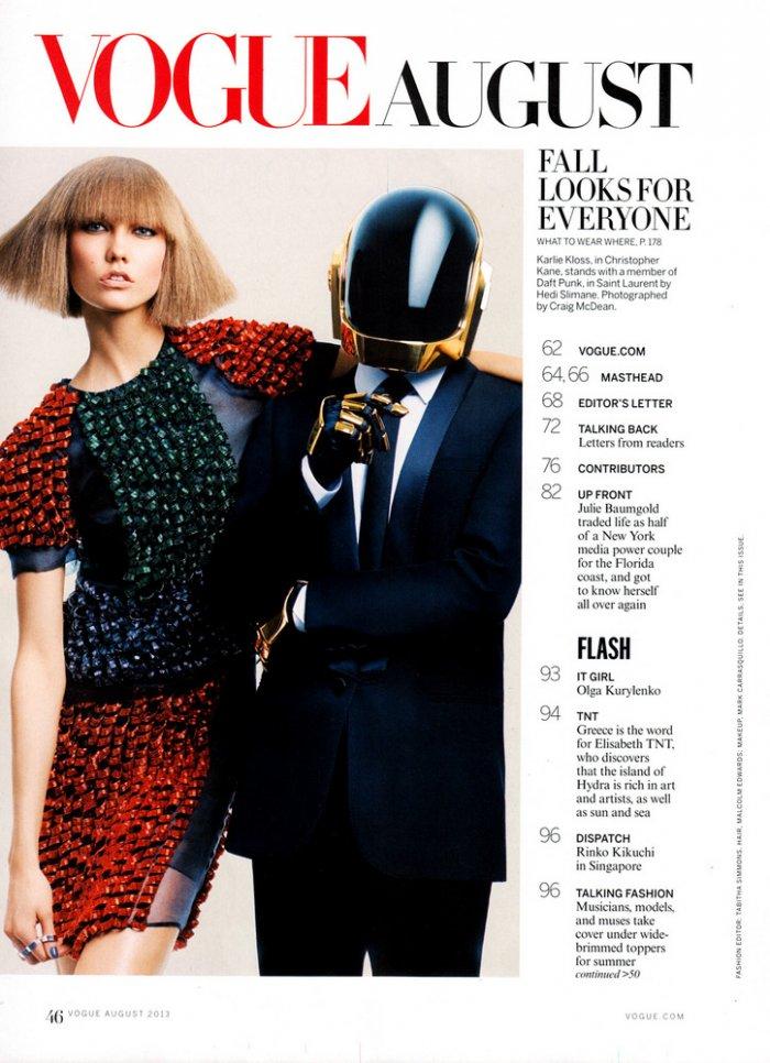 стилист Табита Симмонс для Vogue