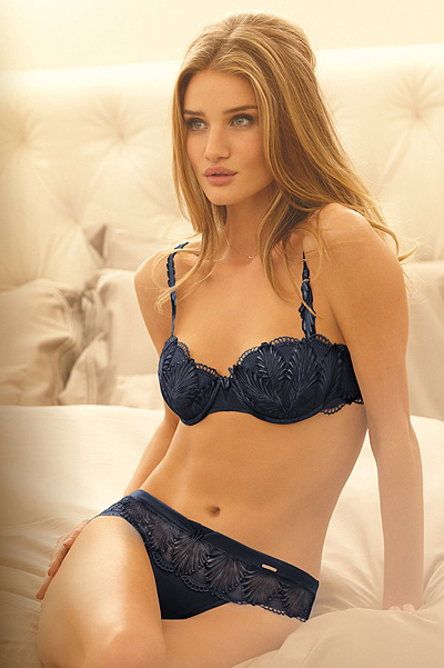 Rosie Huntington-Whiteley for M&S lingerie Rosie for Autograph