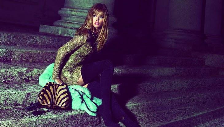 Лицом рекламной кампании Emilio Pucci осень-зима стала божественная Даутцен Крёз