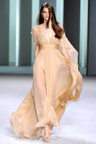Фото лучших шифоновых платьев 2013 года