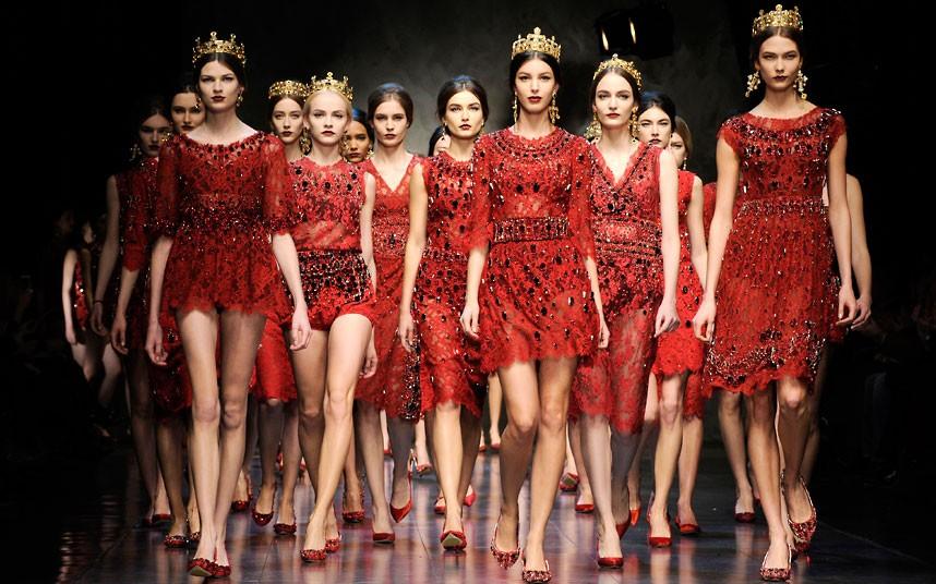 Dolce&Gabbana осень-зима 2013/14 (фото и видео)
