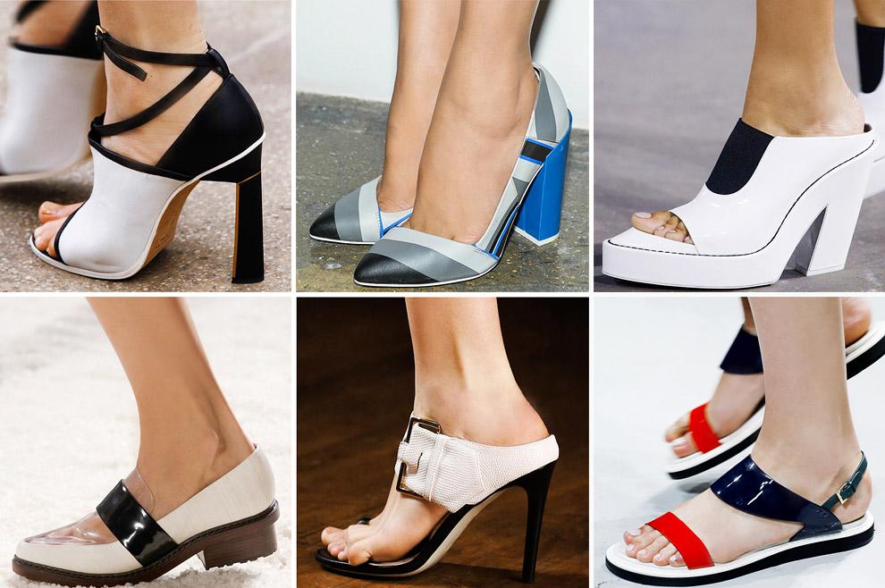 графичные туфли - тренд сезона весна-лето 2014