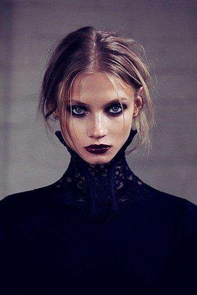российская модель Анна Селезнева приняла участие в съемках промо For Love & Lemons