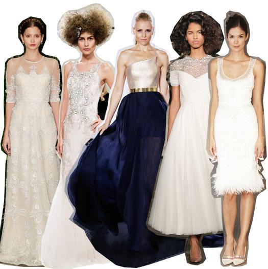Неделе свадебной моды в Нью-Йорке