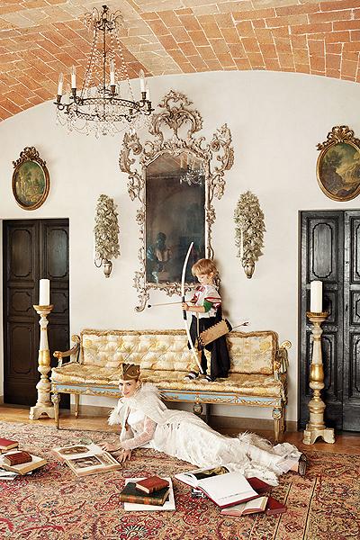 Elena Perminova, Cinderella Story for Harper's Bazaar US