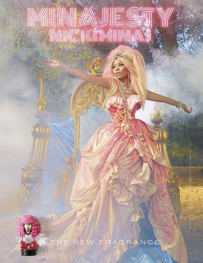 Никки Минаж представляет свой новый аромат Minajesty 2013, фотои видео