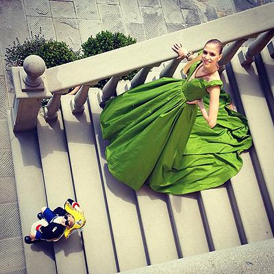 Елена Перминова в Harper's Bazaar US (новые фото и видео)