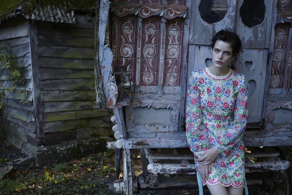 Ольга Вильшенко: Лукбук весенне-летней коллекции Vilshenko 2014 (фото и видео)