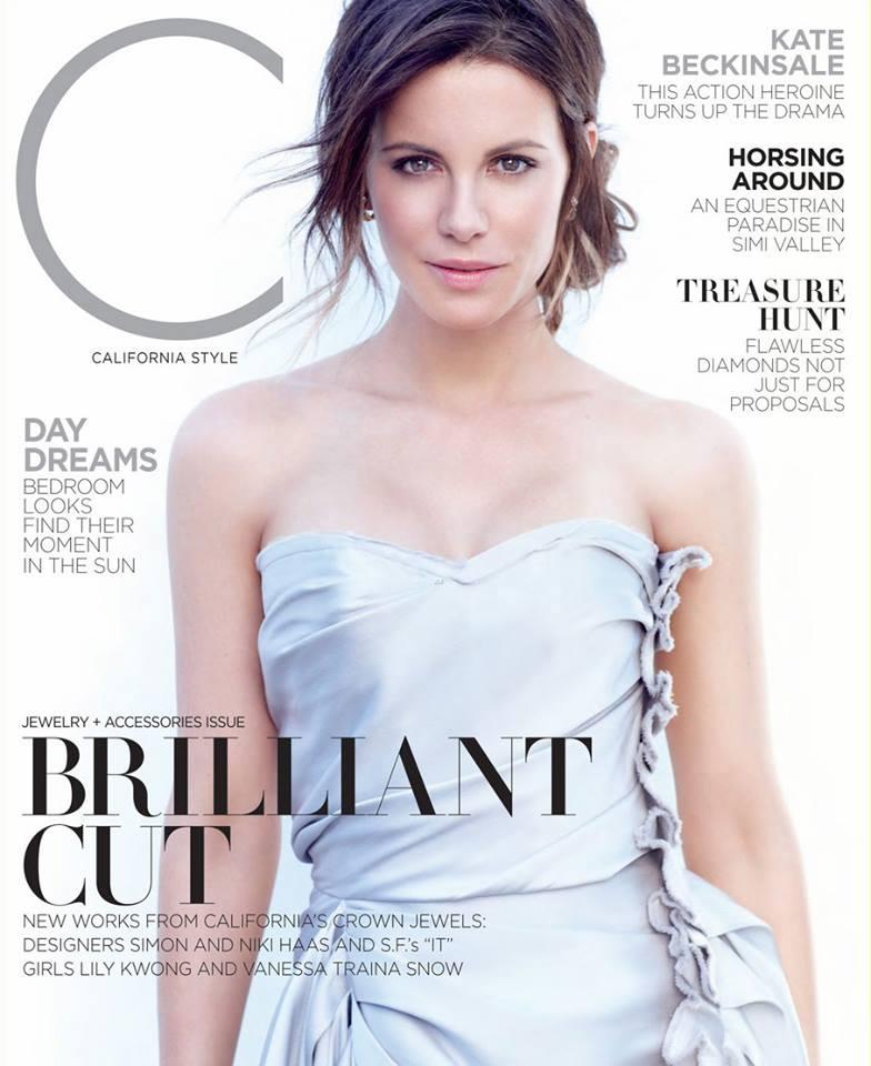 Кейт Бэкинсэйл в фотосессии C Magazine