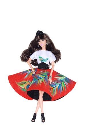 Российские дизайнеры создали наряды для Barbie (фото)