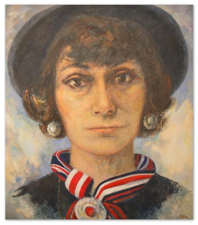 портрет Коко Шанель, смотреть фото