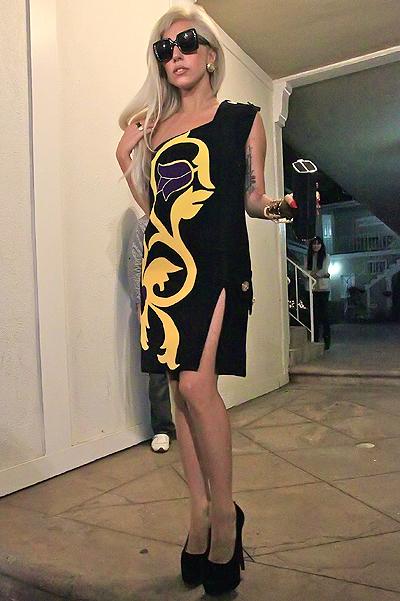 Леди Гага снимется для рекламы Versace