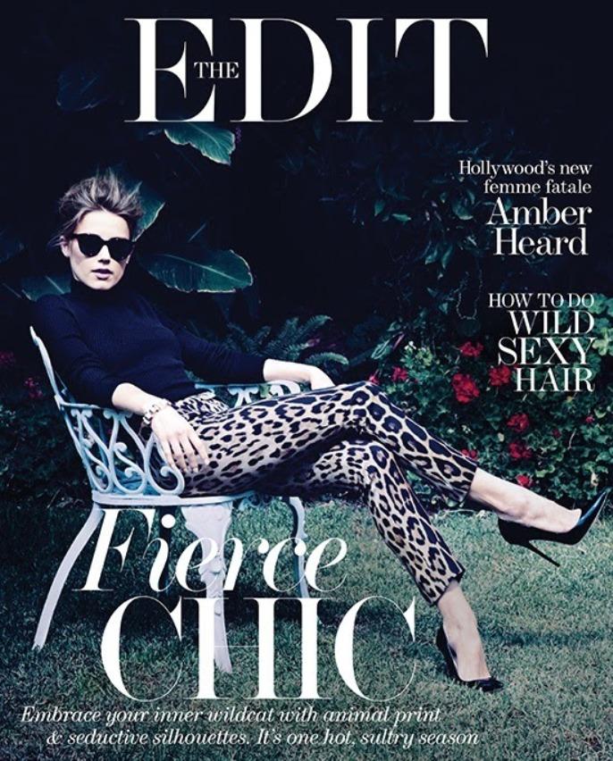 Amber Heard forThe Edit 2013