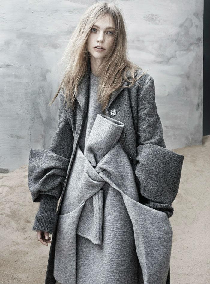 Саша Пивоварова (Sasha Pivovarova) для The Last Magazine (фото)