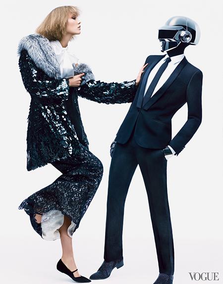 Карли Клосс (Karlie Kloss) в фотосете для Vogue US