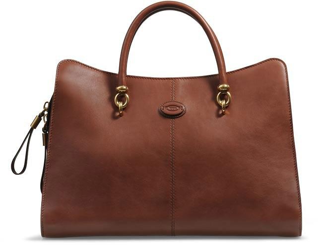 фото стильных сумок Sella 2013 года от Tod's