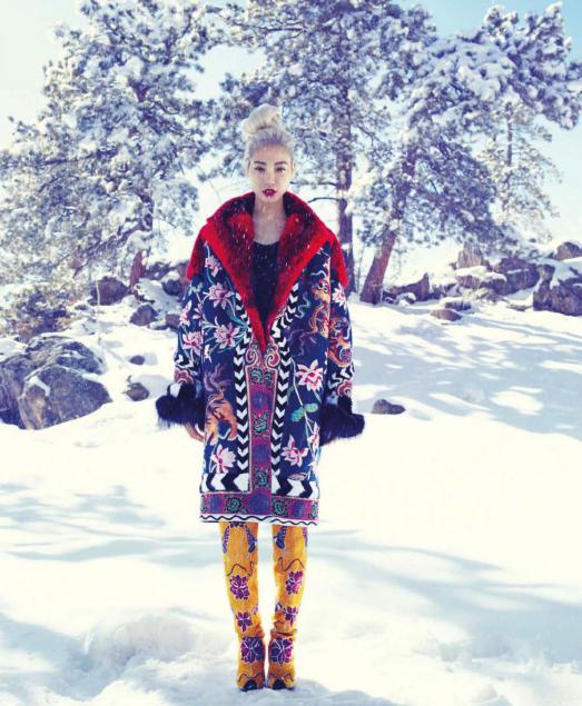 Су Джу в сентябрьском выпуске Harper's Bazaar US 2013 (полная фотосессия)