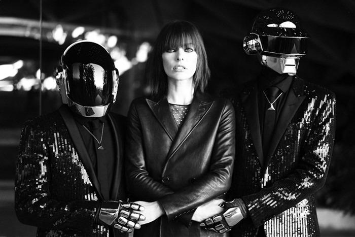 Милла Йовович и Daft Punk в CR Fashion Book (фотосет 2013)