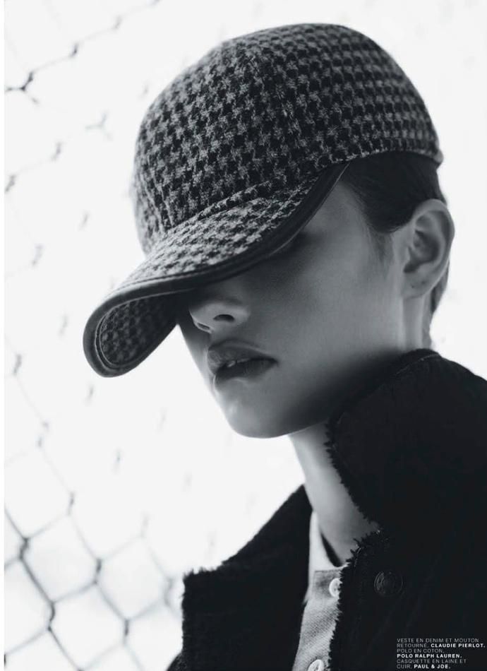 Шведская модель Моа Аберг (Moa Aberg), свежие фото 2013