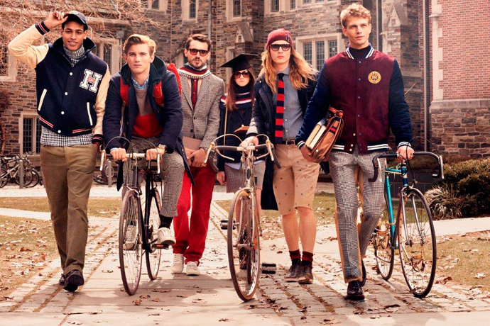 Chloe Goes to College Tommy Hilfiger 2013/14