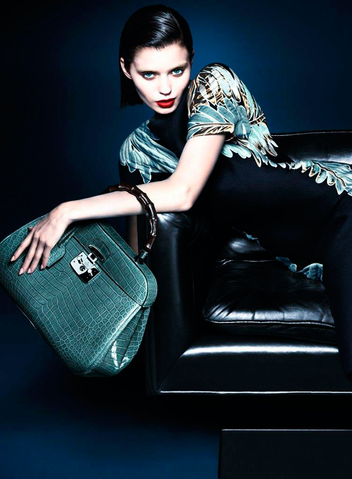 Abbey Lee Kershaw for Gucci Fall-Winter 2013/2014