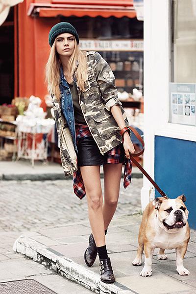 молодежная одежда из Англии: фото и виео коллекции - новинки осени 2013