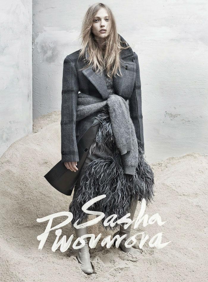 Sasha Pivovarova for The Last Magazine No.11 Fall 2013