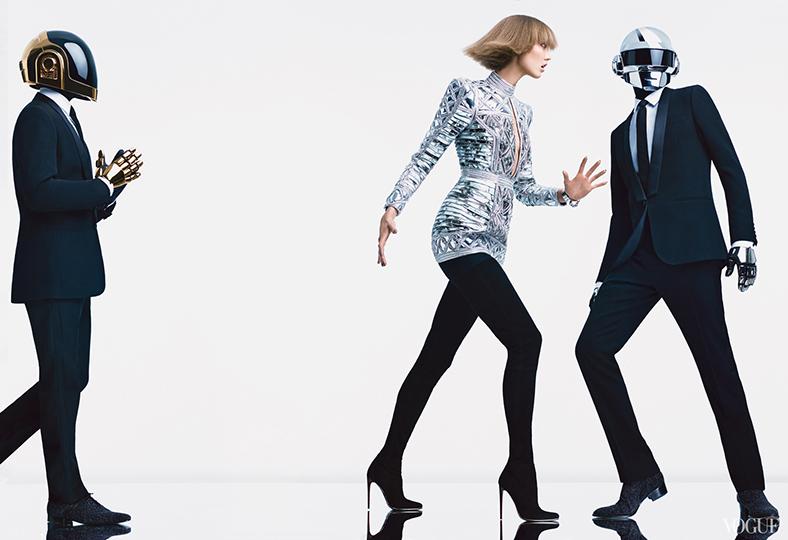 Daft Punk для августовского номера американского Vogue