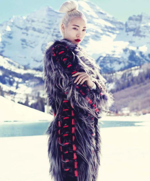 Soo Joo, Harper's Bazaar September 2013