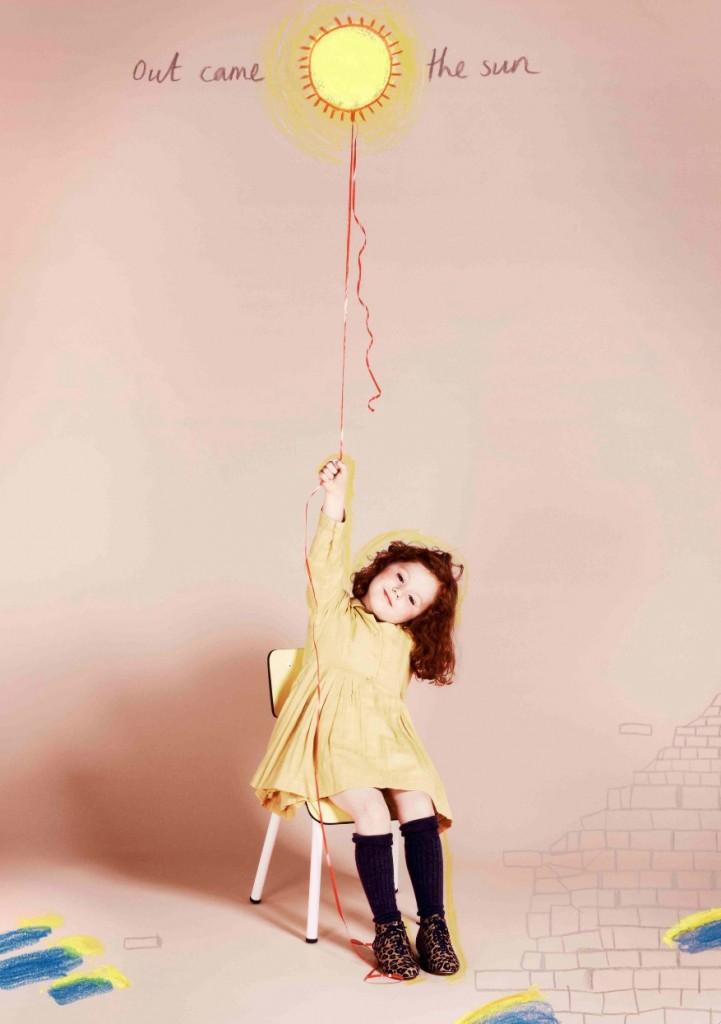 Шарлотт Деллал,выпустила коллекцию обуви для девочек