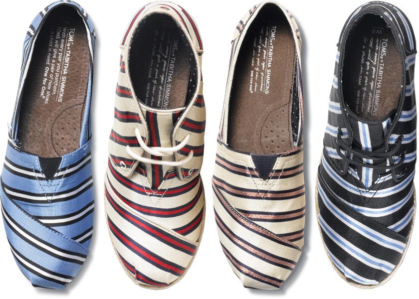 6Капсульная коллекция обуви Табиты Симмонс для Toms (фото и видео)