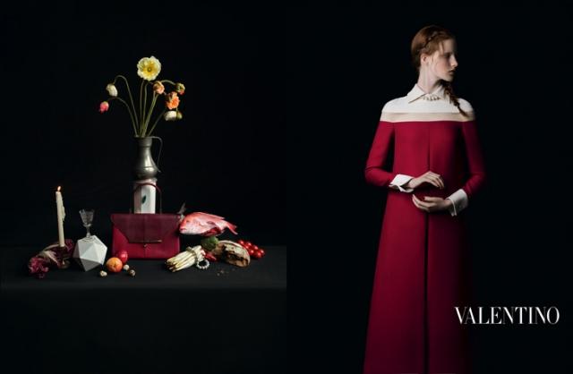 Саша Лусс и Ирина Кравченко в рекламной кампании Valentino Осень-Зима 2013-2014