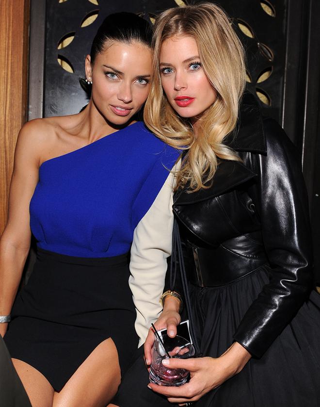 Victoria's Secret Fashion Show 2013: модели на афтепати