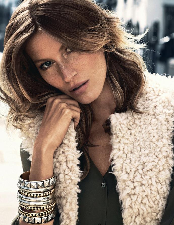 Жизель Бюндхен для H&M: новая рекламная кампания, фото