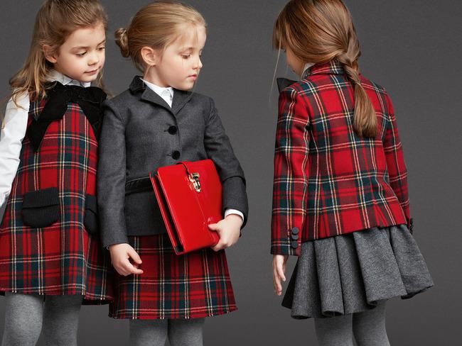 Dolce&Gabbana выпустили коллекцию одежды для школы 2013