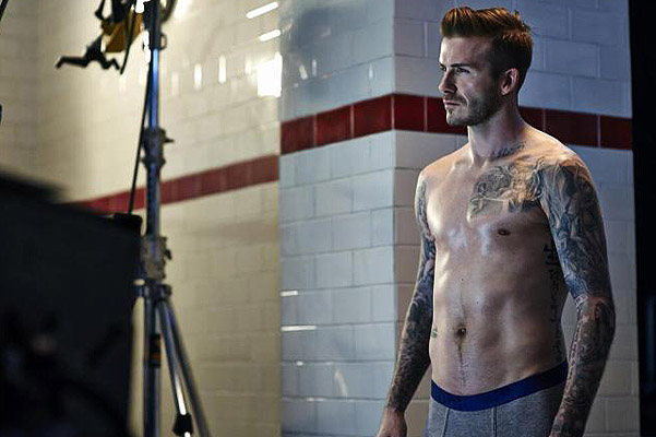 David Beckham Bodywear for H&M Fall/Winter 2013 Campaign