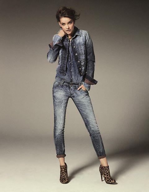 Фото новой коллекции денима осень-зима 2013/2014 от Gas Jeans