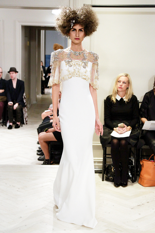 Fall 2014 Bridal Collection - Badgley Mischka - Show