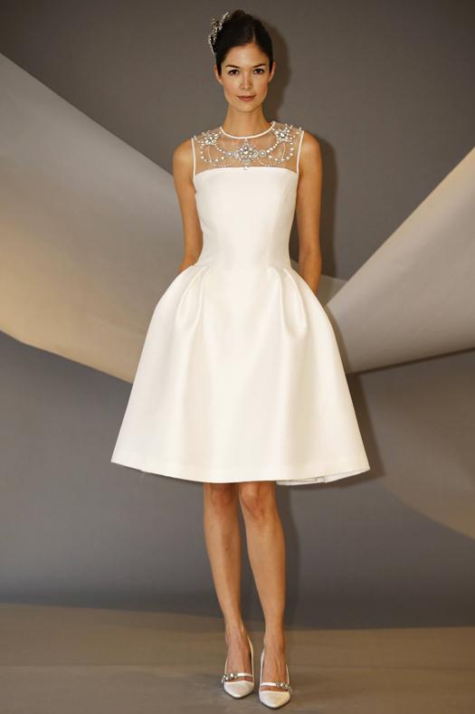 Carolina Herrera Fall 2014 Bridal