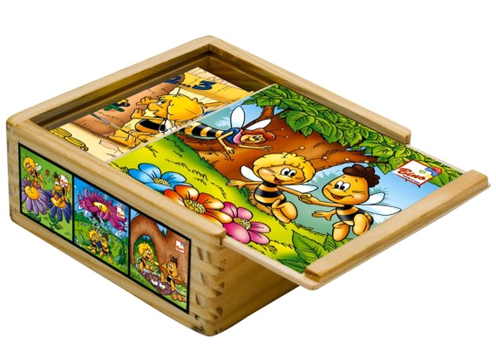 Деревянные кубики для ребенка