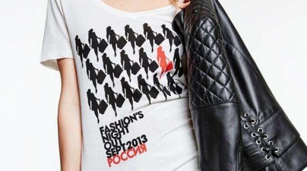 Дизайн футболок Fashion's Night Out 2013