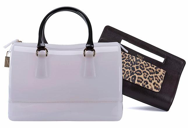 The Candy Bag от Furla: накладной карман можно носить отдельно как клатч