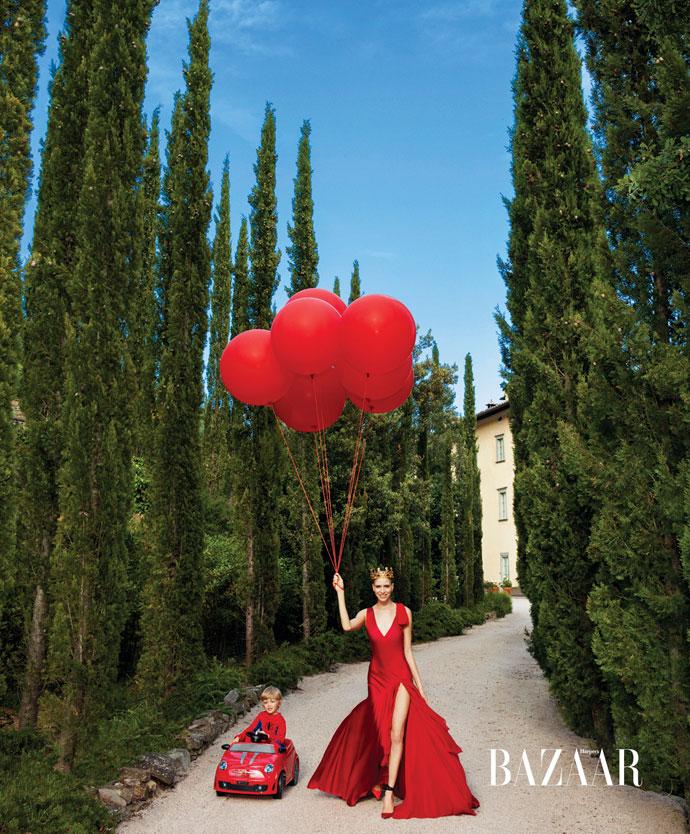 Cinderella Story Harper's Bazaar US 2013