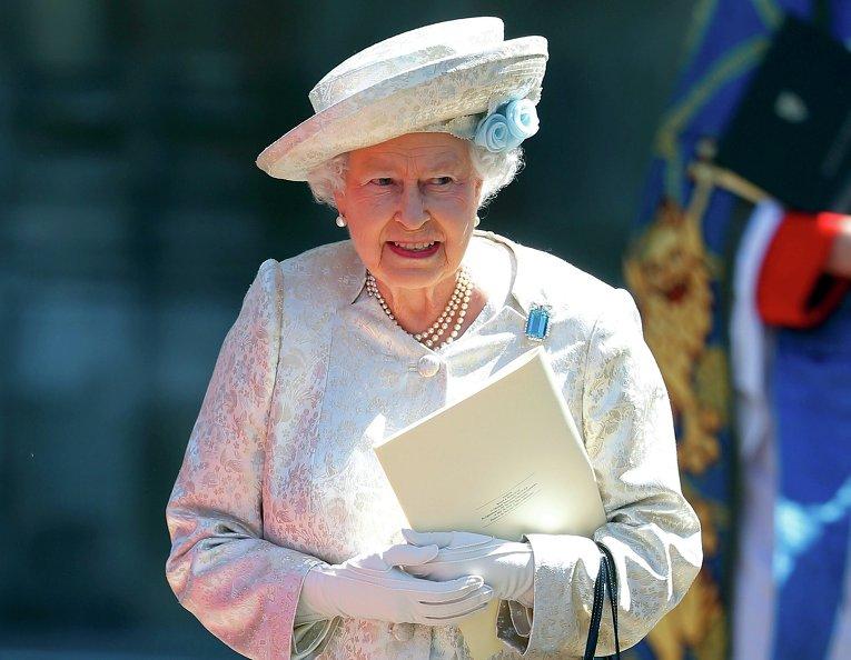 Королева Елизавета II 2013