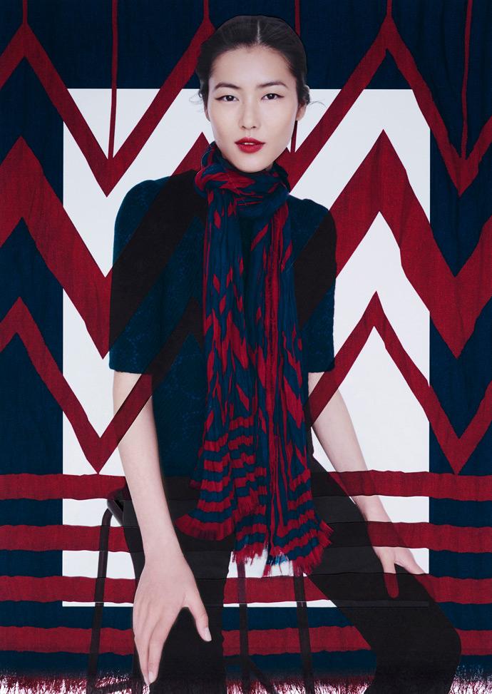 Лиу Вен для Louis Vuitton в 2013
