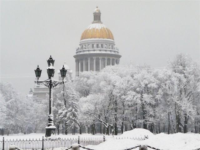 Новый год и РОЖДЕСТВО В САНКТ-ПЕТЕРБУРГЕ