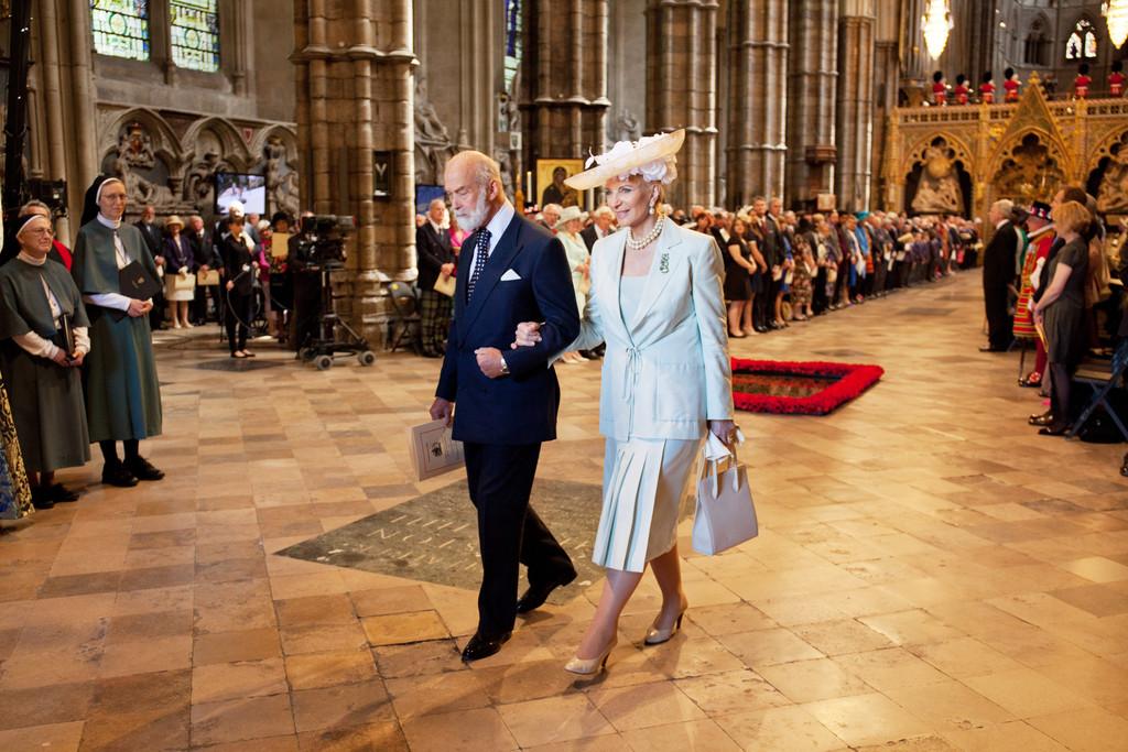 Принц Майкл Кентский - внучатый двоюродный племянник Николая II.